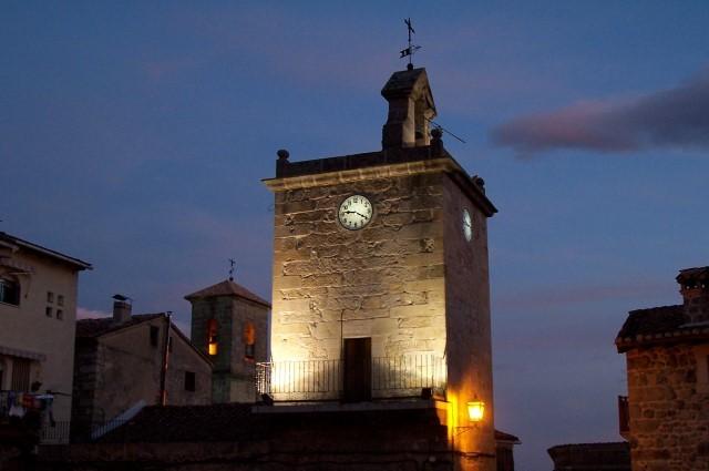 Iglesia y Torre del Reloj
